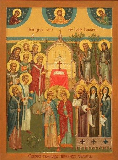 Alle heiligen van de lage landen
