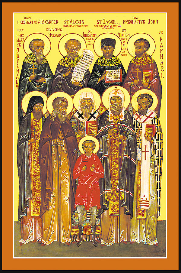 All saints of Russia